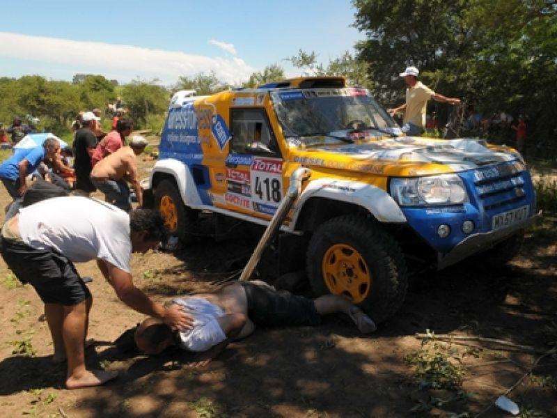 Atropelamento deixa um morto e vários feridos no Rali Dakar
