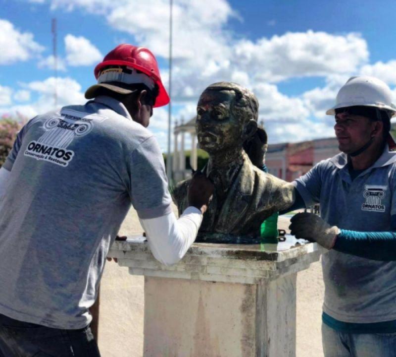 Secretaria de Cultura de Penedo recupera patrimônio artístico e cultural