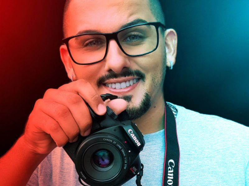Empreendedorismo Juvenil: Jovem torna-se referência em fotografia digital em Penedo