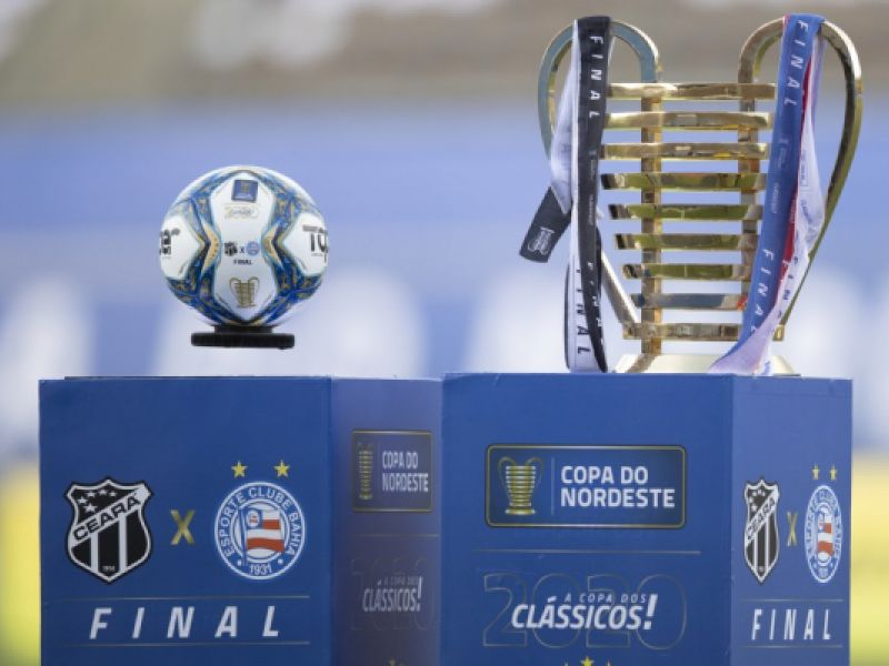 Em Salvador, Bahia e Ceará disputam jogo de ida da final da Copa do Nordeste
