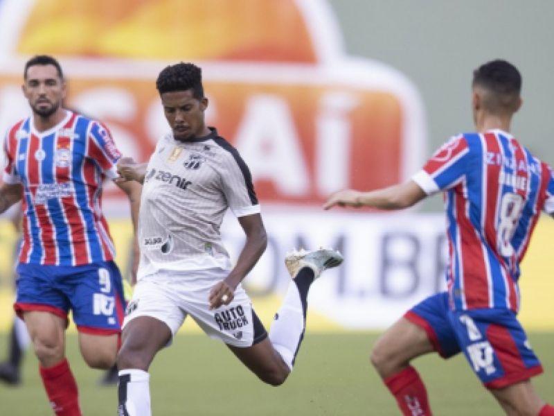 Copa do Nordeste 2021: Ceará vence o Bahia no primeiro jogo da decisão