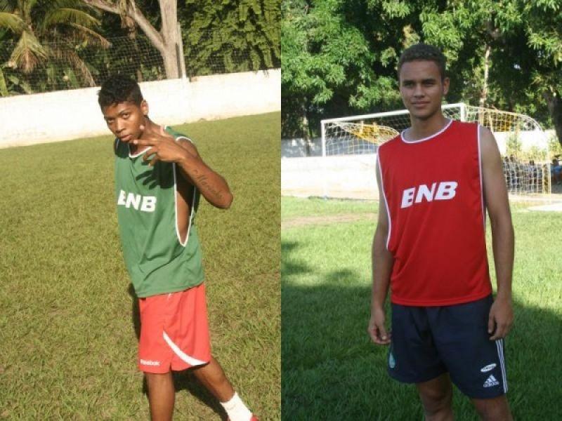 Marinho e Everton participaram de jogo entre amigos em Penedo
