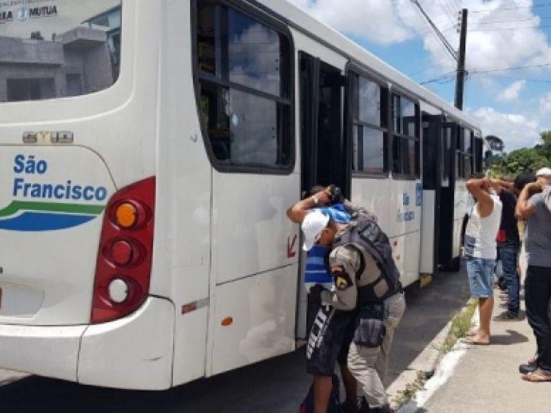 Mês de abril zera ocorrências de assaltos a ônibus em Maceió