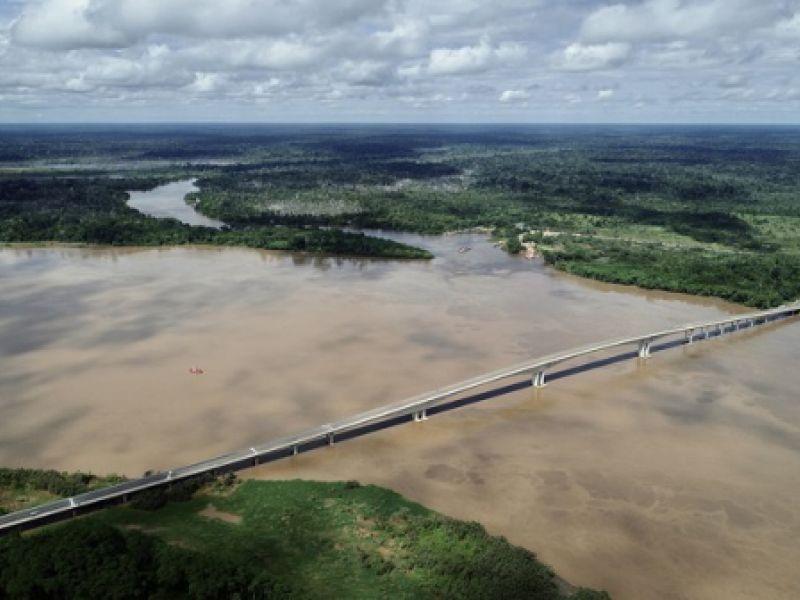 Infraestrutura: inaugurada ponte que conecta os estados de Rondônia e Acre
