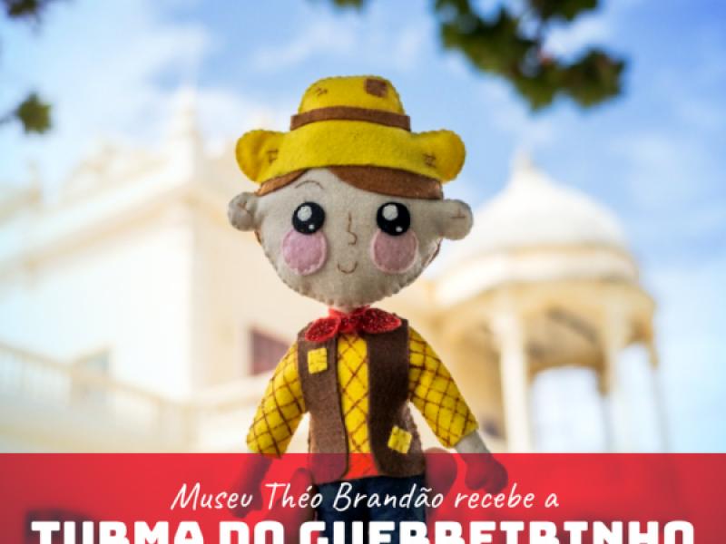 Museu Théo Brandão recebe a Turma do Guerreirinho, criada pelo Tatipirun Atelier