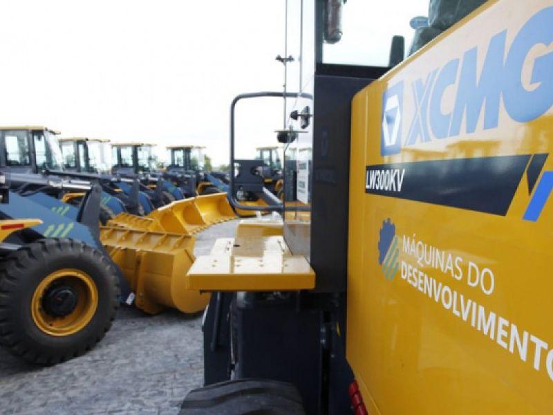Governo Federal repassa 24 máquinas pesadas a municípios da Paraíba