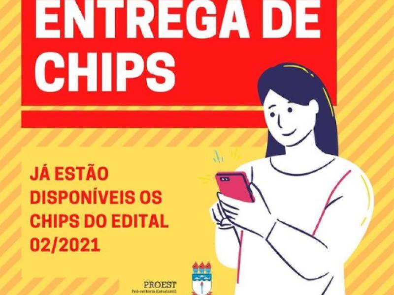 Ufal: chips do edital Alunos Conectados estão disponíveis para retirada