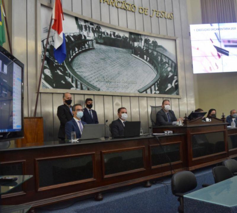ALE/Alagoas realiza audiência pública para prestação de contas de recursos do SUS