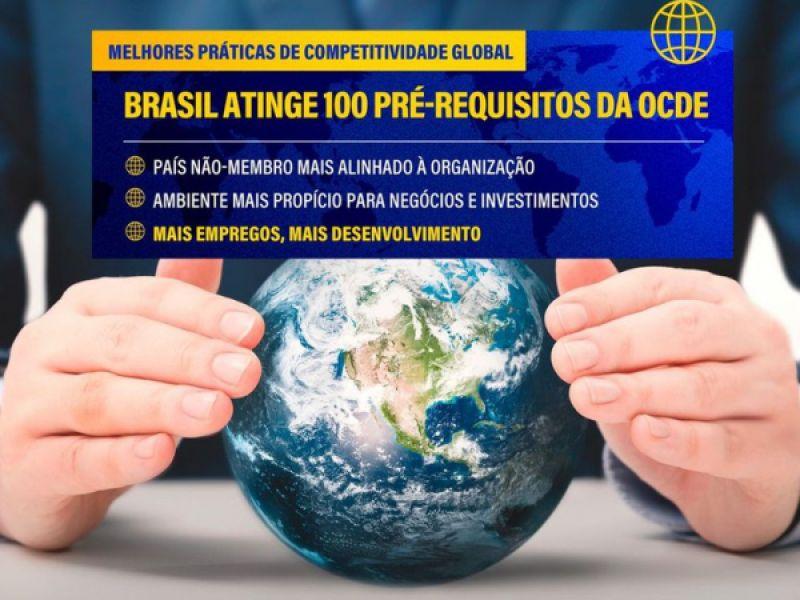 Geração de emprego: Brasil atinge 100 instrumentos de aderência à OCDE
