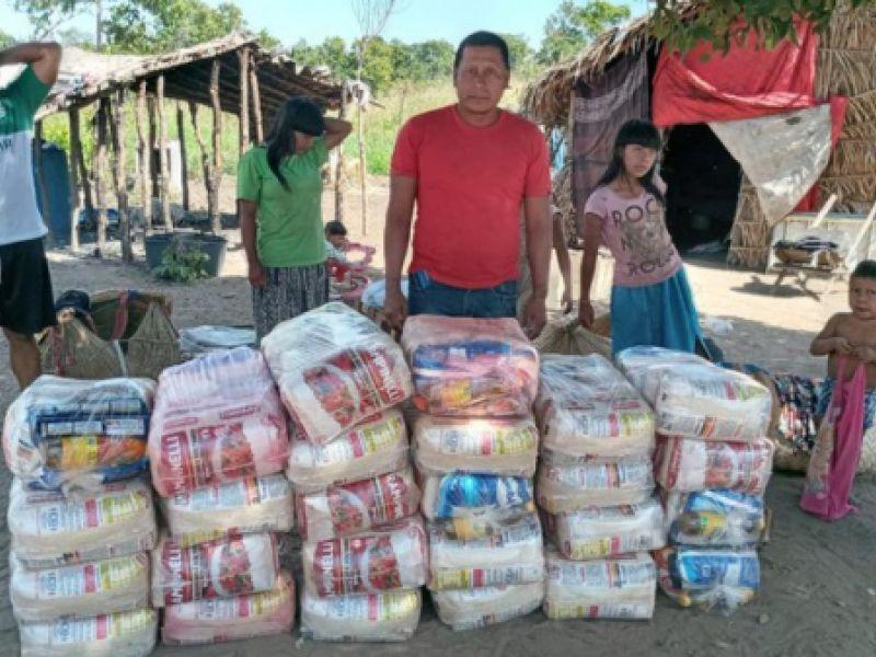 Governo entrega 700 mil cestas básicas a indígenas de todo o país