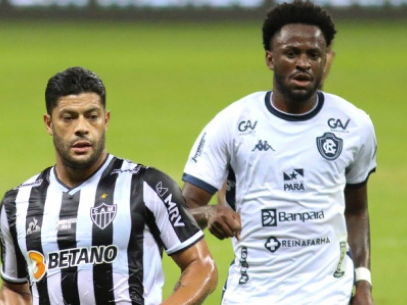 Atlético-MG vence o Remo por 2x1 e se classifica na Copa do Brasil