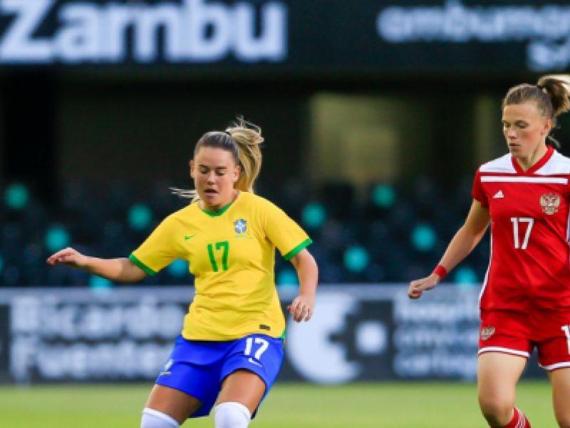 Seleção Feminina bate a Rússia no penúltimo jogo preparatório para as olímpiadas