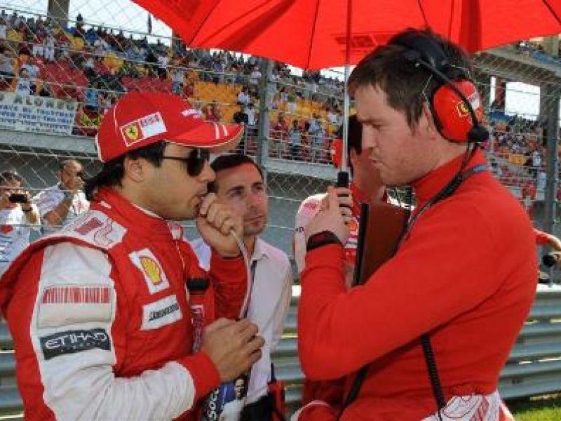 Presidente da Ferrari diz que Massa é o símbolo da equipe