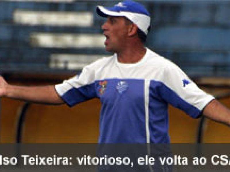 Celso Teixeira comandará o CSA em 2010