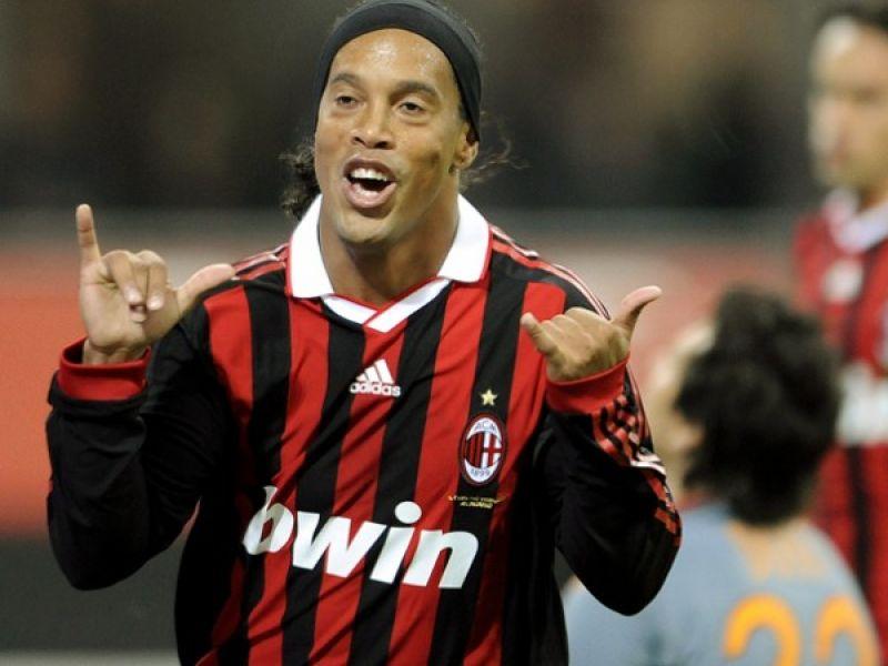 Ronaldinho e Pato dão vitória ao Milan diante da Roma