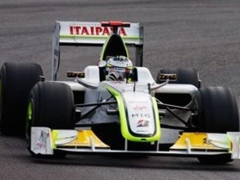 Button mais arrojado que Barrichello, é o campeão da F1