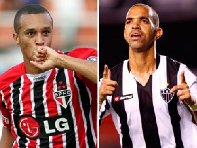 São Paulo e Atlético-MG abrem rodada da série A