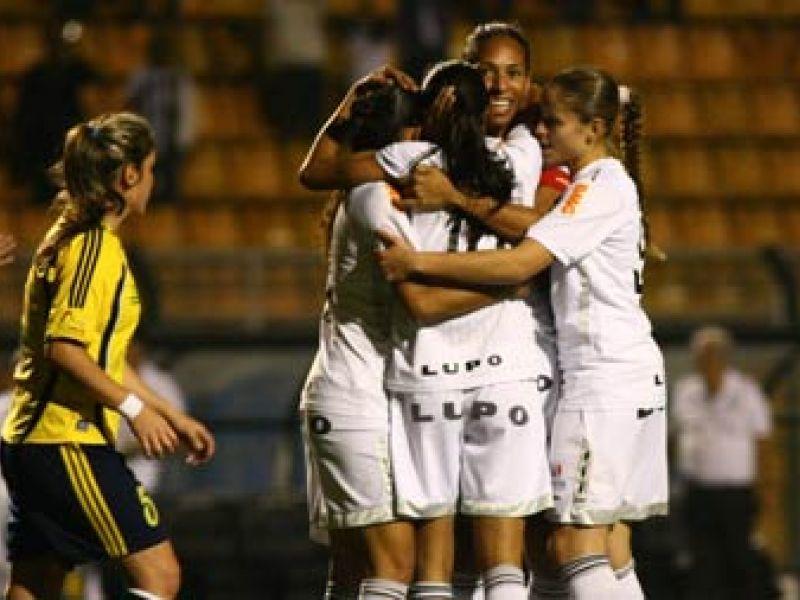 Santos goleia e está na final da 1ª Libertadores Feminina