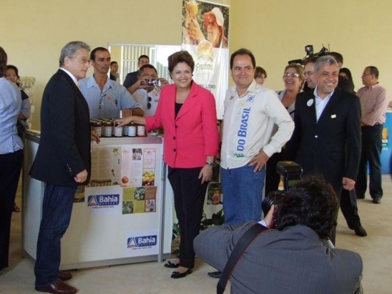 Dilma oficializa Programa da Farinha Alagoana