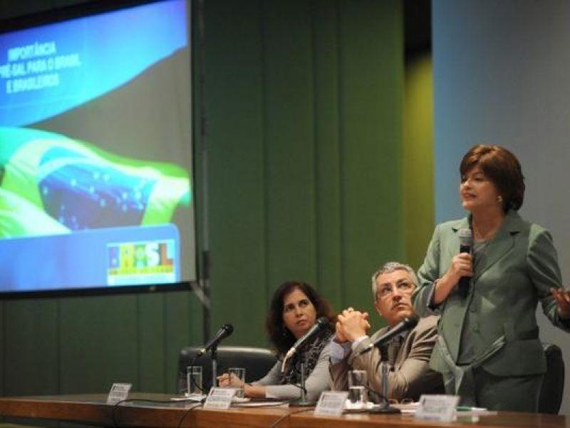 Dilma diz que pré-sal vai acelerar redução da pobreza