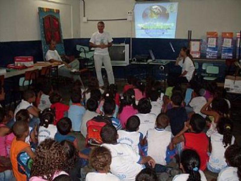 SMS inicia atividades da Semana da Água na Escola Olavo Bilac