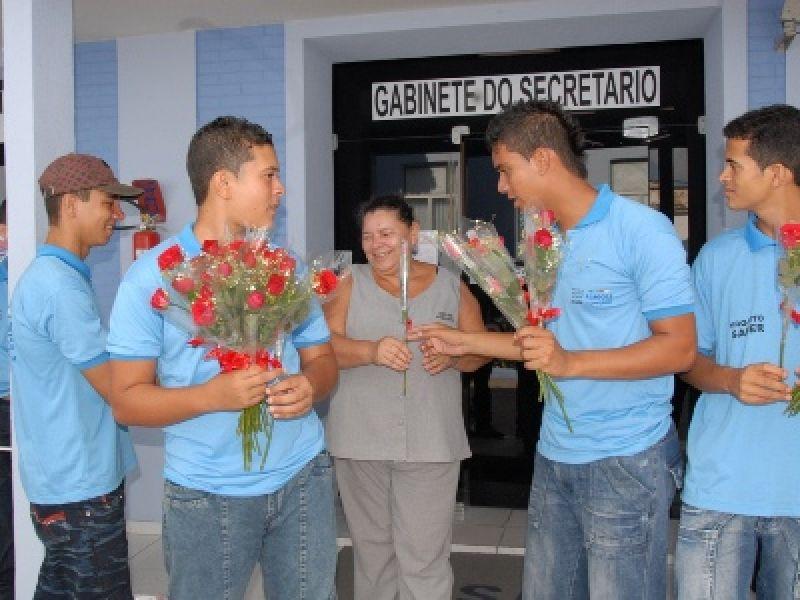 Servidoras da Sesau são homenageadas pelo Dia da Mulher