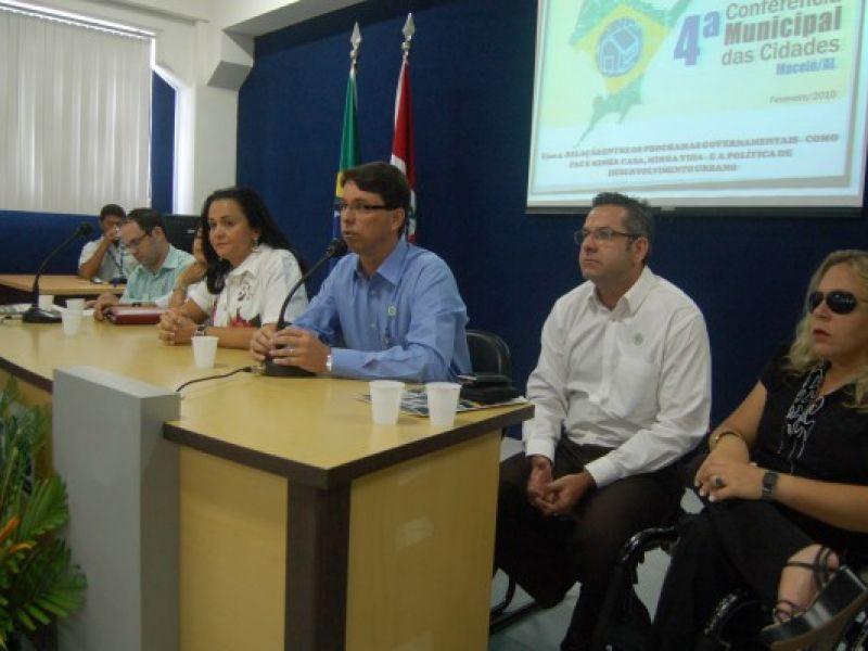 Planejamento urbano na 4ª Conferência Municipal das Cidades