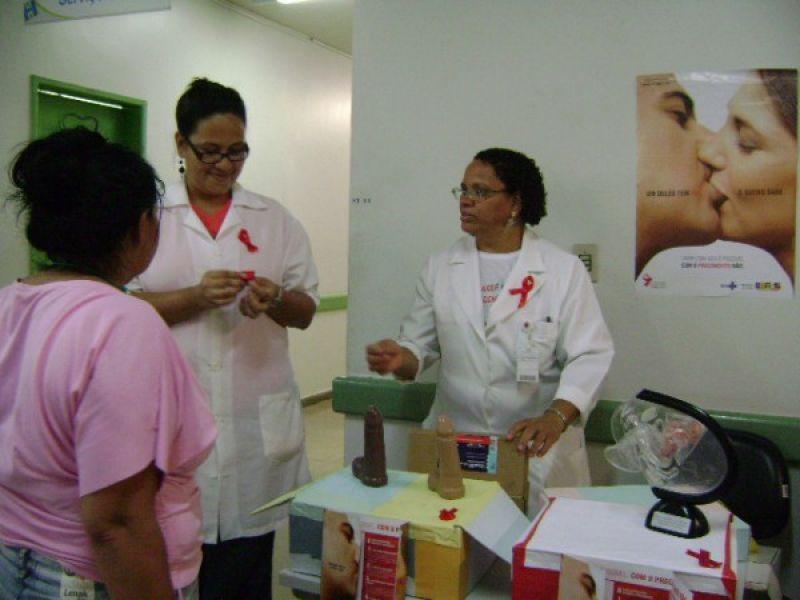 Unidade de Saúde realiza ações para lembrar Luta Contra a Aids