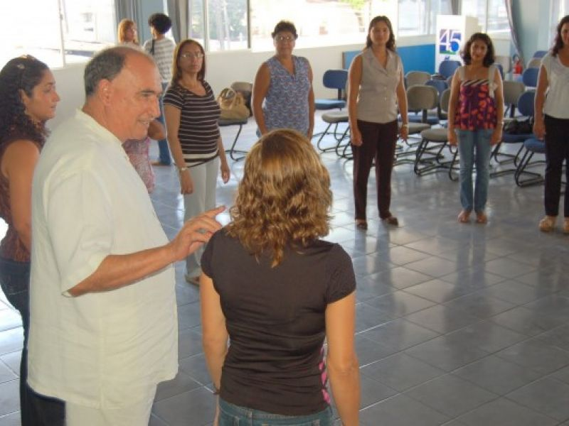 Semed capacita educadores para a cultura da Paz