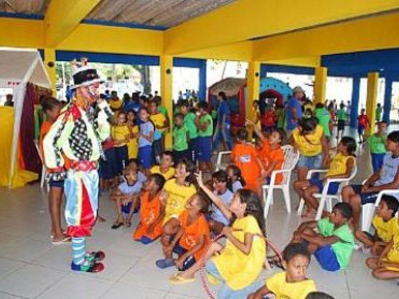 Semas realiza festa para crianças do Peti