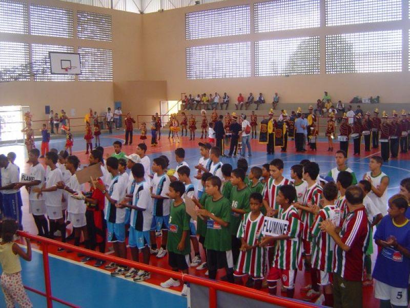 Secretaria realiza abertura do Campeonato infantil