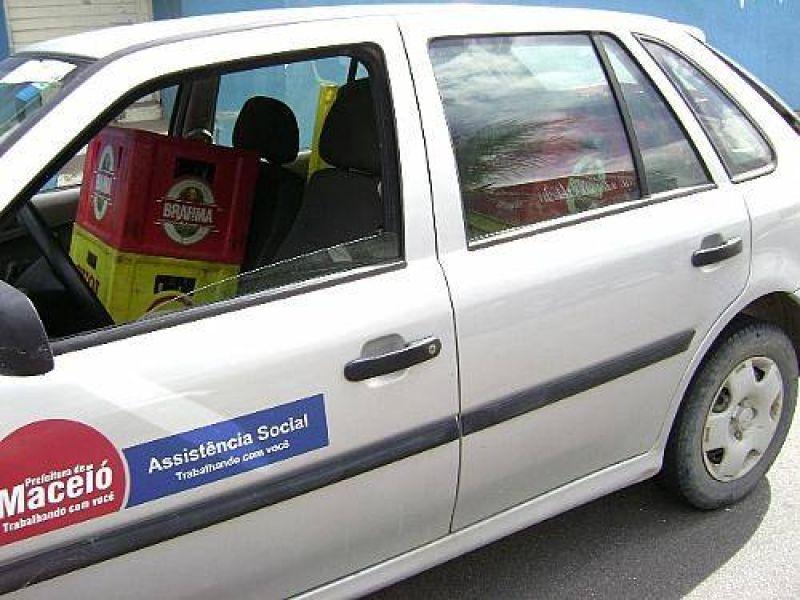 OAB vai investigar carro da Prefeitura que estava com bebidas