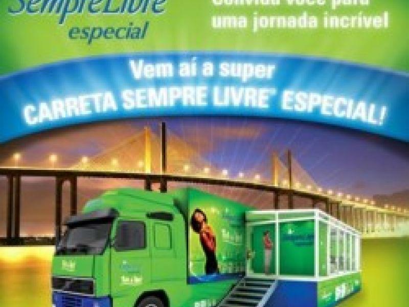 Maceió recebe carreta Sempre Livre especial