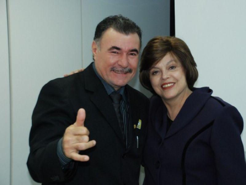 Almeida e Dilma discutem obras do PAC em Maceió