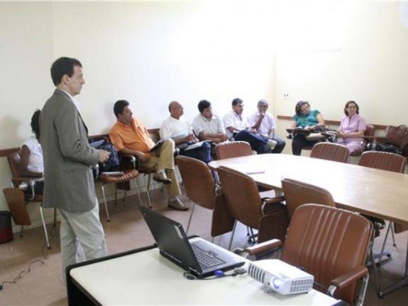Revitalização da Bacia São Francisco é discutida na Semarh-SE