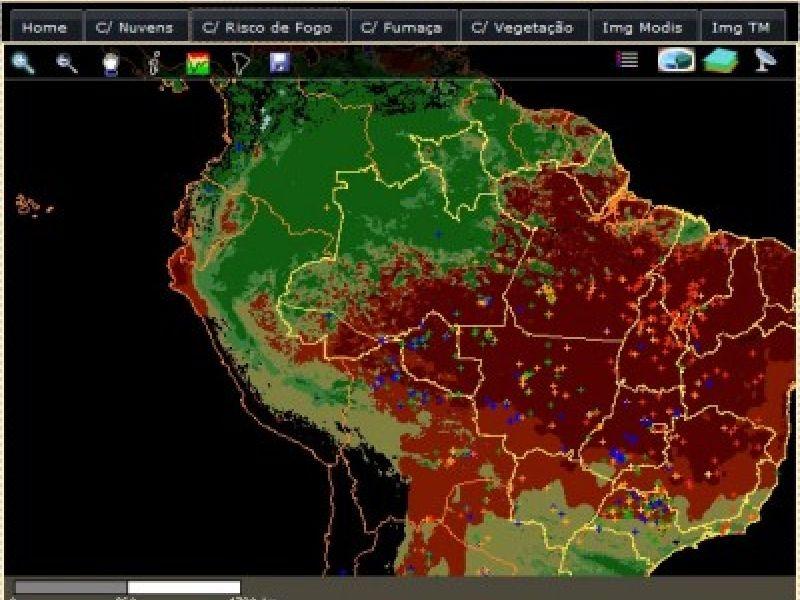 As queimadas e o verão amazônico