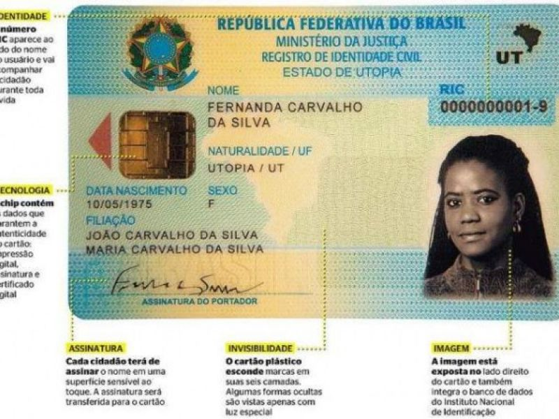 Nova carteira de identidade será implantada em Alagoas