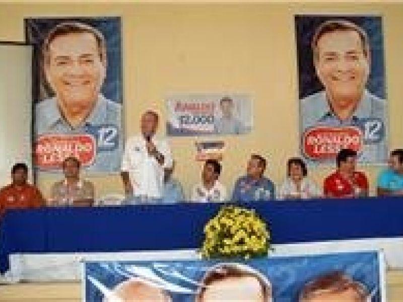 Lessa e Renan formalizam apoio em 18 municípios do Sertão