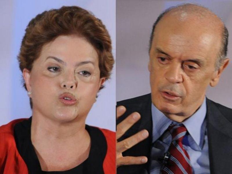 Pesquisa Ibope aponta empate entre Dilma e Serra