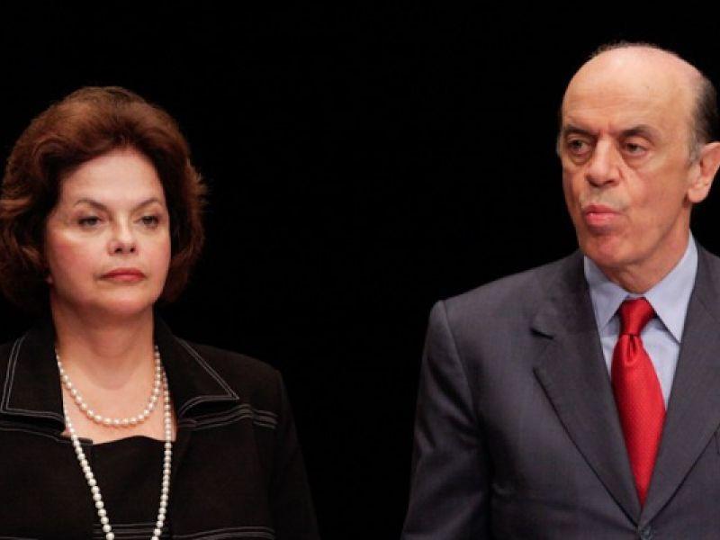 Por votos, Serra e Dilma buscam alianças incômodas