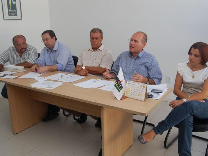Trabalhadores participam do lançamento do PMDB Sindical em Alagoas