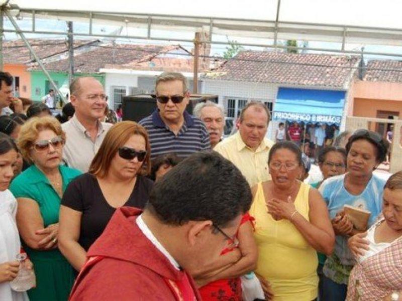 Renan e Lessa juntos em evento de Porto Calvo