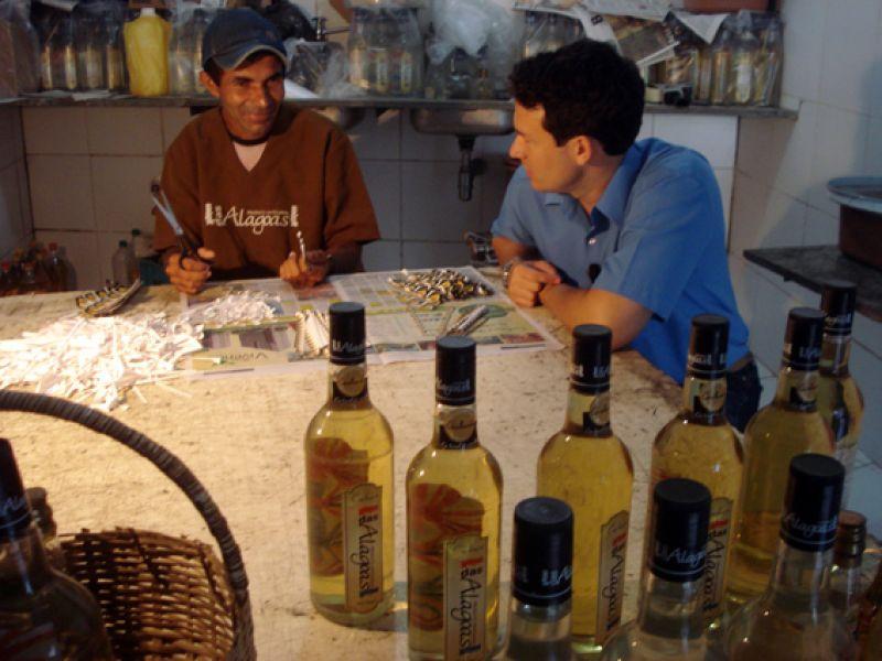 Reportagem destaca a produção alagoana de cachaça