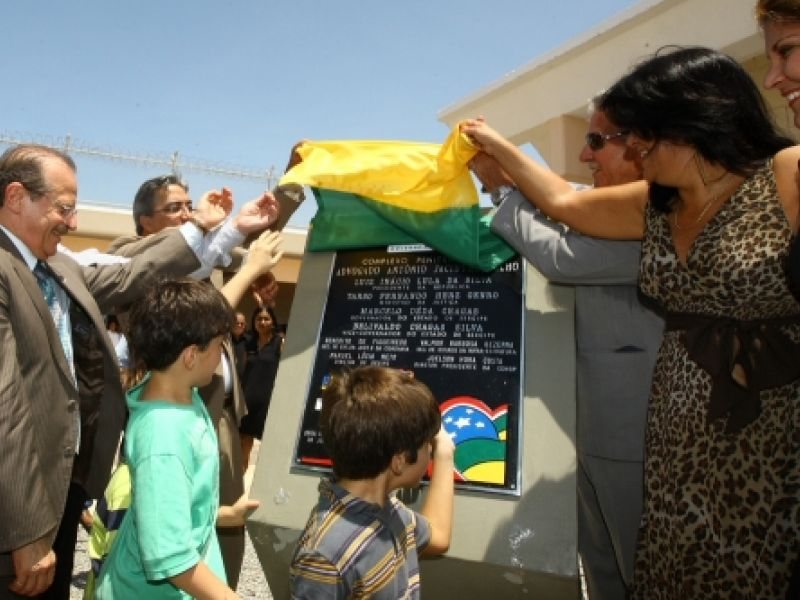 Complexo penintenciário é inaugurado em Sergipe