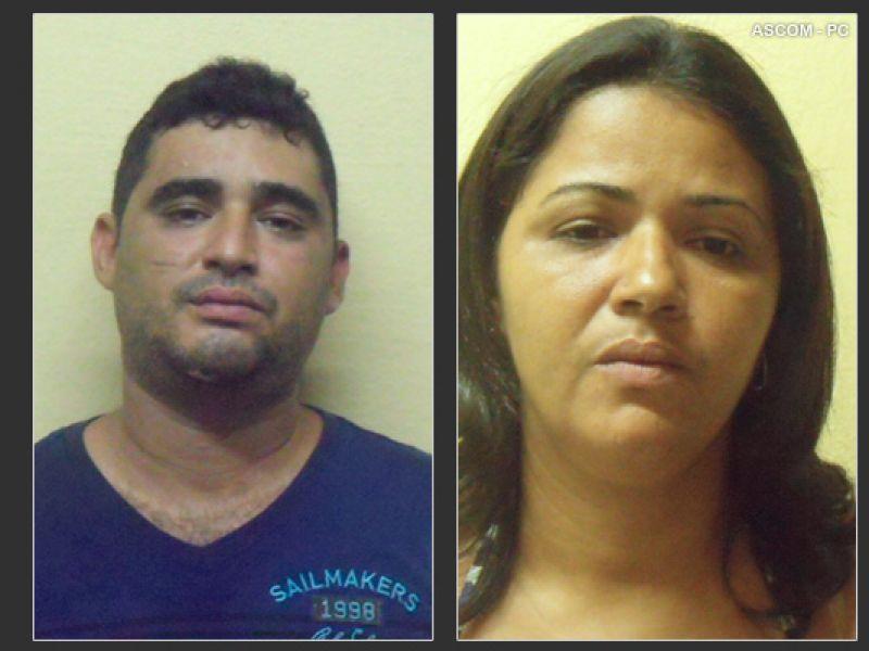 Presos acusados de assaltos a agências bancárias do Sertão de AL