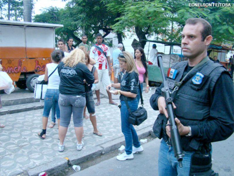 Policia civil deflagra Operação Varredura no centro da cidade