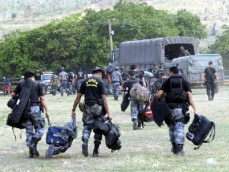 Força Nacional reforça segurança em Alagoas