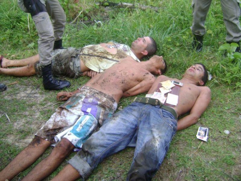 Polícia desbarata quadrilha no Pontal do Peba