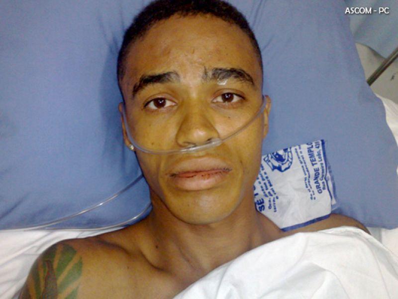 Homem baleado em Jaraguá faz parte de quadrilha