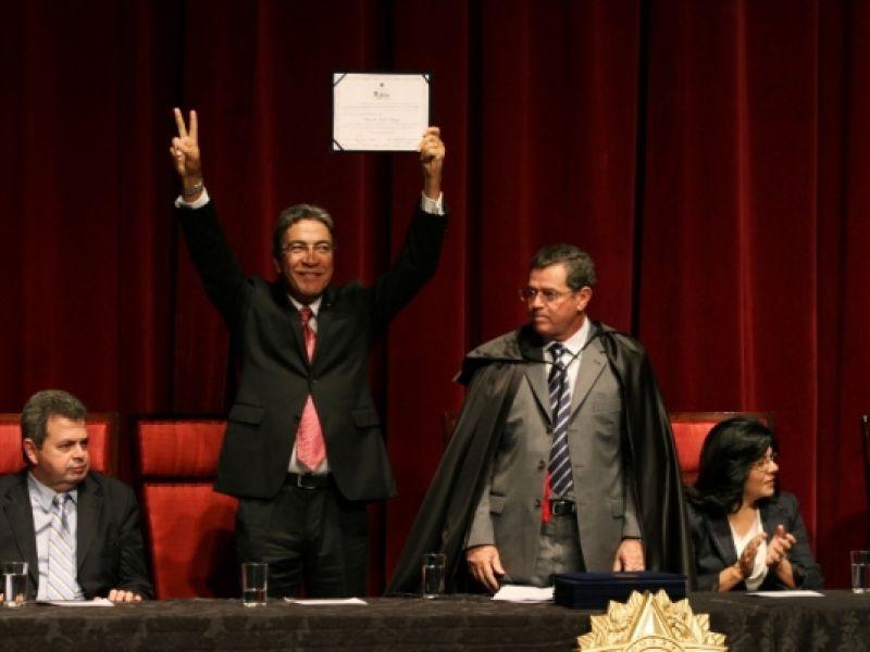 Déda é diplomado pelo TRE como governador reeleito